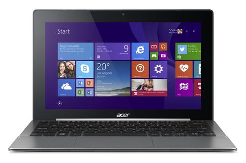 Acer Aspire Switch 11 SW5-173-60VD (Grau, Schwarz)