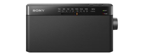 Sony ICF-306 (Schwarz)