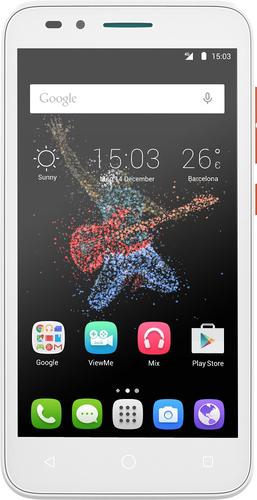 Alcatel One Touch Go Play 8GB 4G Orange, Weiß (Orange, Weiß)