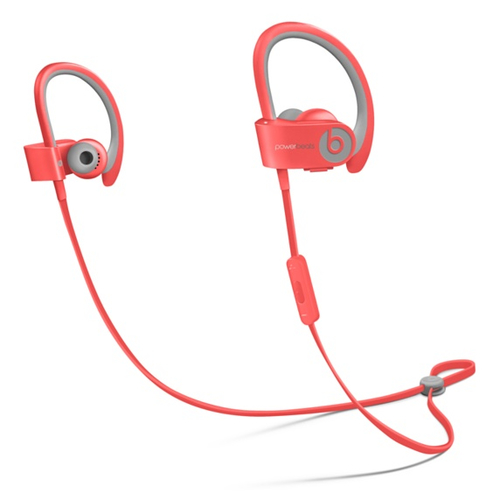 Beats by Dr. Dre Powerbeats² Wireless Ohrbügel, Nackenband Binaural Kabellos Pink Mobiles Headset (Pink)