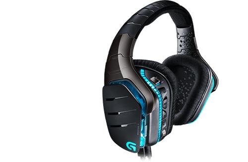 Logitech G633 (Black, Blue)