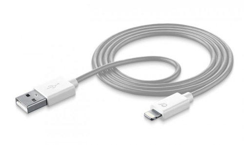 Cellular Line USBDATAMFISMARTW USB Lightning Weiß Handykabel (Weiß)