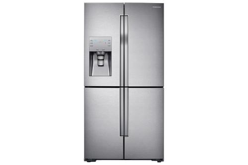 Amerikanischer Kühlschrank Side By Side : Samsung rf j sr side by side kühlschrank edelstahl in