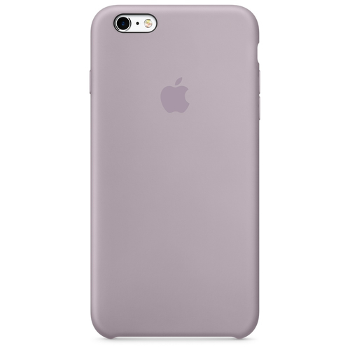 Apple iPhone 6s Silikon Case – Lavendel (Lila)
