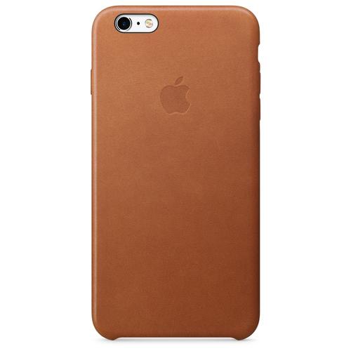 Apple iPhone 6s Plus Leder Case – Sattelbraun (Braun)