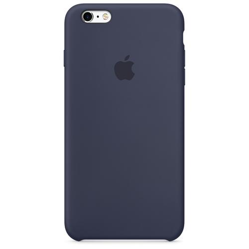 Apple iPhone 6s Plus Silikon Case – Mitternachtsblau (Blau)