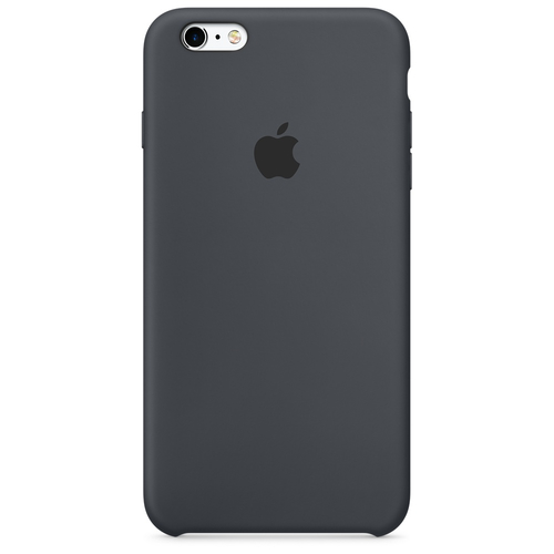 Apple iPhone 6s Plus Silikon Case – Anthrazit (Grau, Charcoal)
