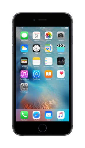 Apple iPhone 6s Plus 128GB 4G Grau (Grau)
