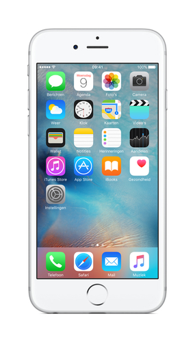 Apple iPhone 6s 16GB 4G Silber (Silber)