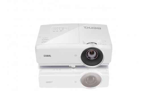 Benq MH741 Desktop-Projektor 4000ANSI Lumen DLP 1080p (1920x1080) 3D Weiß Beamer (Weiß)