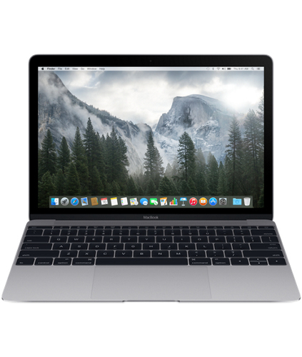 "Apple MacBook 12"" Retina (Grau)"