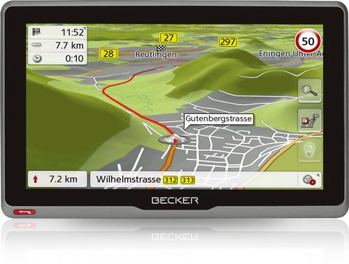 Becker active.7S EU Fixed 7Zoll Touchscreen Schwarz (Schwarz)