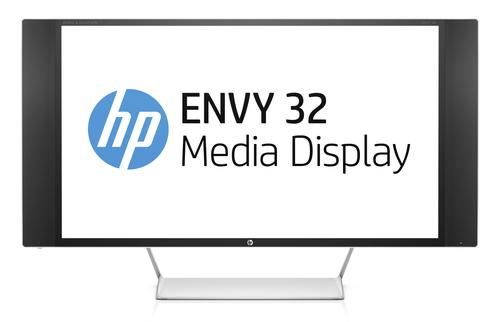 "HP   ENVY 32 WVA 32"" Schwarz, Silber, Weiß UltraWide Quad HD Matt (Schwarz, Silber, Weiß)"