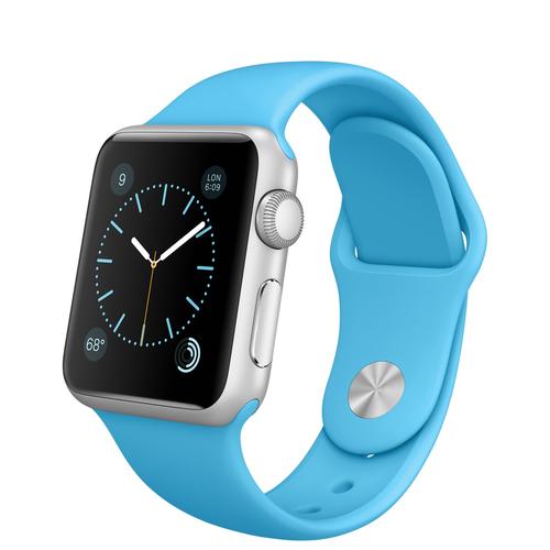 Apple Watch Sport (Blau, Silber)