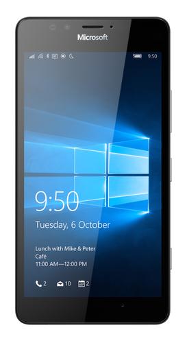 Microsoft Lumia 950 Dual SIM 32GB 4G Schwarz (Schwarz)