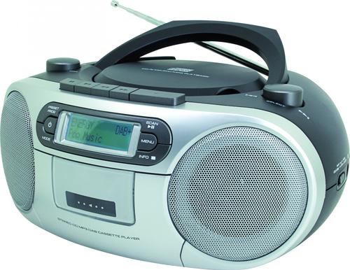 Soundmaster SCD7900SW CD-Spieler u. -Recorder (Schwarz)