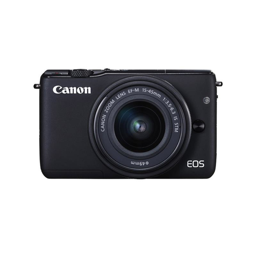 Canon EOS M10 + EF-M 15-45mm f/3.5-6.3 IS STM (Schwarz)