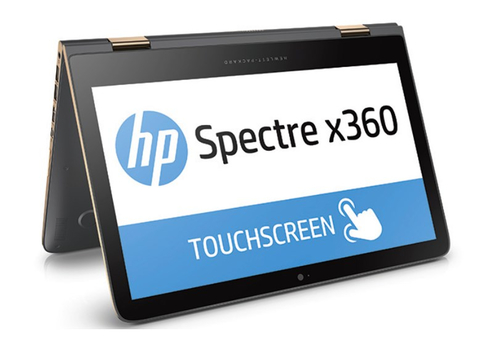 HP Spectre x360 13-4132ng (Silber, Gold)