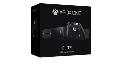 Microsoft Xbox One 1TB Elite (Schwarz)