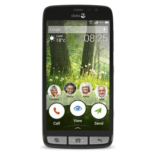 Doro Liberto 825 8GB 4G Schwarz (Schwarz)