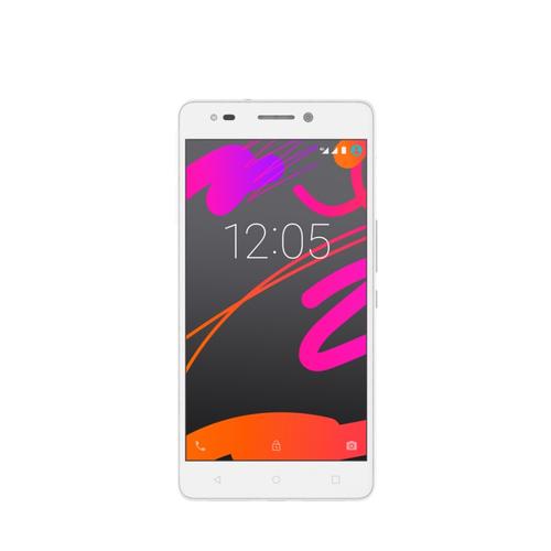 bq Aquaris M5.5 16GB 4G Weiß (Weiß)