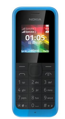 "Nokia 105 1.45"" Blau (Blau)"