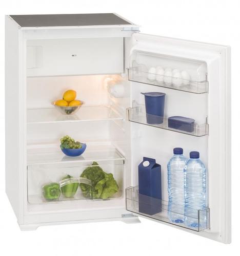 Exquisit EKS131-4A++ Eingebaut 120l A++ Weiß Kühlschrank mit Gefrierfach (Weiß)