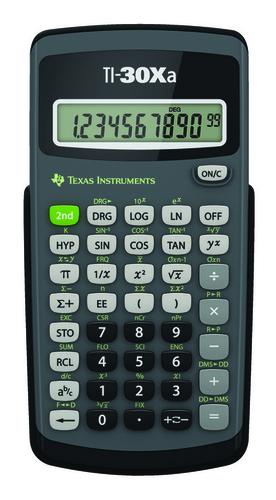 Texas Instruments TI-30Xa (Schwarz, Grau)