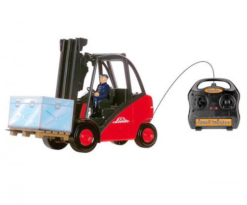 Dickie Toys Work Master (Schwarz, Rot)