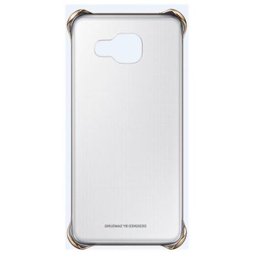 Samsung EF-QA310CFEGWW Handy-Schutzhülle (Gold, Durchscheinend)