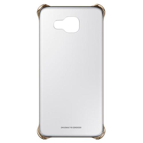 Samsung EF-QA510CFEGWW Handy-Schutzhülle (Gold, Durchscheinend)
