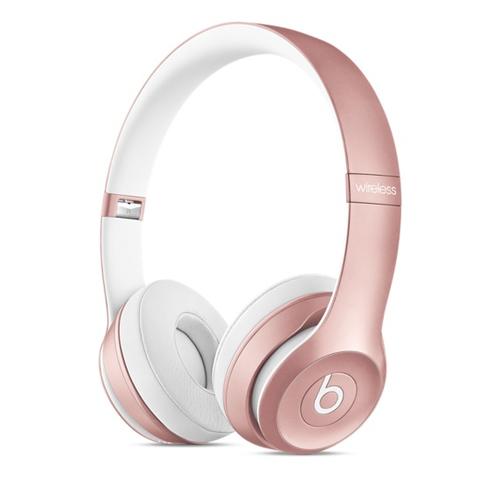 Apple Beats Solo2 ohraufliegend Kopfband Weiß (Pink, Weiß)