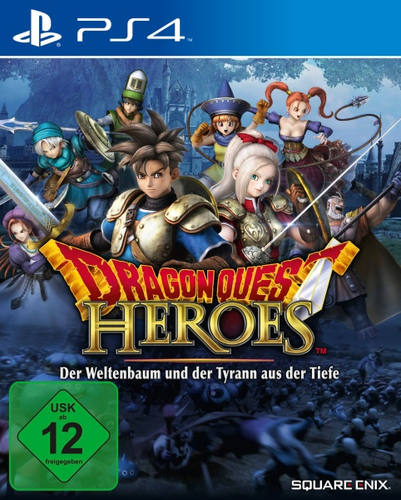 Square Enix Dragon Quest Heroes PS4 Standard PlayStation 4 Mehrsprachig Videospiel