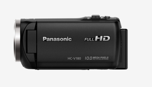 Panasonic HC-V180EG-K Full HD Digitale Videokamera (Schwarz)