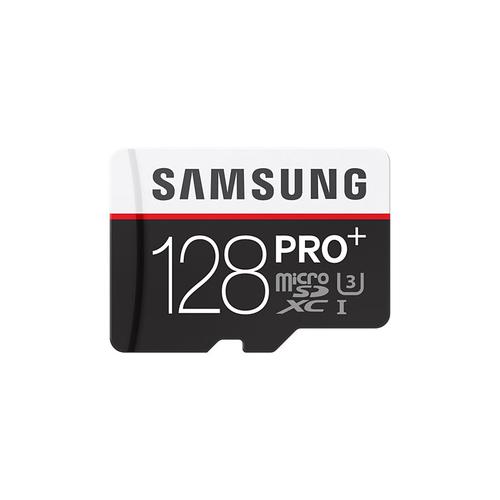 Samsung 128G micro SDXC 128GB MicroSDXC UHS-I Class 10 Speicherkarte (Schwarz, Rot, Weiß)
