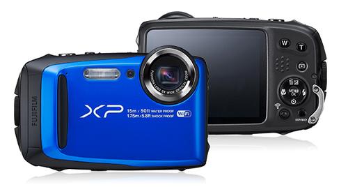 """Fujifilm FinePix XP90 16.4MP 1/2.3"""" CMOS 4608 x 3456Pixel Schwarz, Blau (Schwarz, Blau)"""