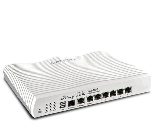Draytek V2860NLTE-B Gigabit Ethernet 3G 4G Weiß WLAN-Router (Weiß)