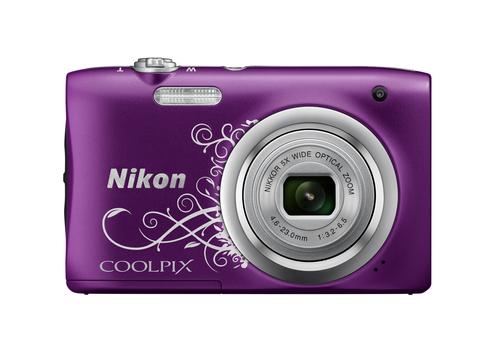 Nikon COOLPIX A100 (Violett, Weiß)