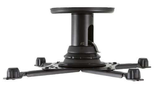 V7 Universal-Projektorhalterung – für Projektoren mit einem Gewicht von bis zu 22,5 kg (Schwarz)