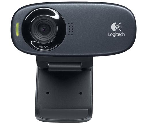 Logitech C310 5MP 1280 x 720Pixel USB Schwarz (Schwarz)