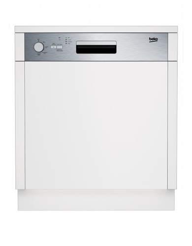 Beko DSN04211X Integrierbar 12Stellen A+ Edelstahl Spülmaschine (Edelstahl)