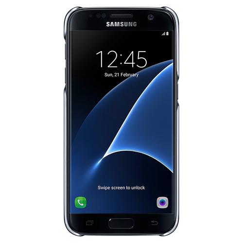 """Samsung Clear Cover 5.1"""" Abdeckung Schwarz (Schwarz)"""