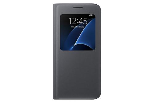 """Samsung S View Cover 5.1"""" Flip Schwarz (Schwarz)"""