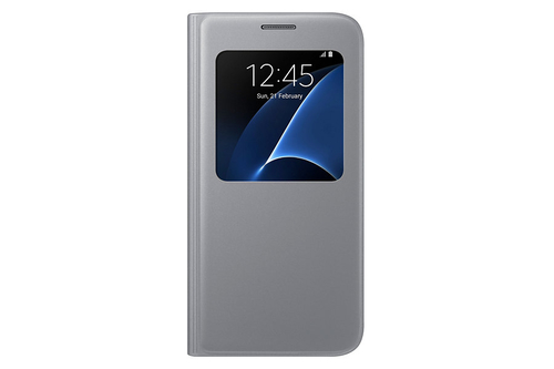"""Samsung S View Cover 5.1"""" Flip Silber (Silber)"""