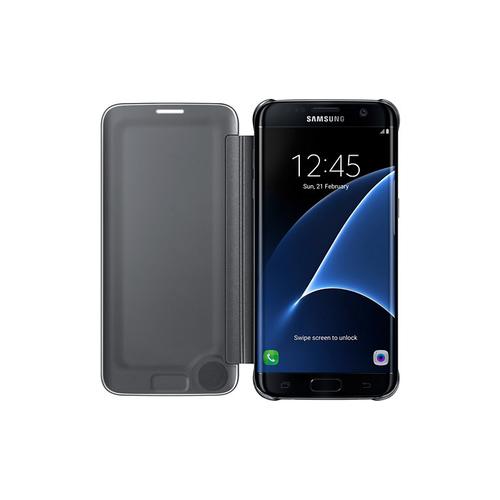 Samsung EF-ZG935C Flip Schwarz (Schwarz)