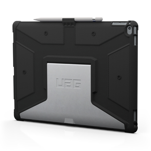 Urban Armor Gear UAG-IPDPRO-BLK-VP Abdeckung Schwarz Tablet-Schutzhülle (Schwarz)