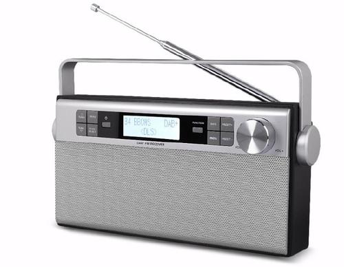 Soundmaster DAB 650 Tragbar Digital Silber Radio (Silber)