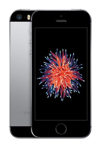 Apple iPhone SE 64GB 4G Schwarz, Grau (Schwarz, Grau)