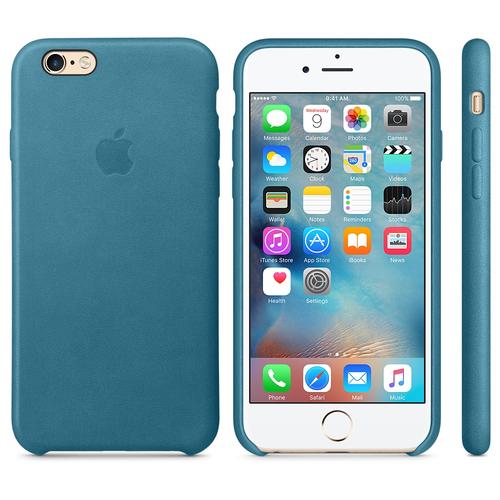 Apple MM4G2ZM/A Abdeckung Blau Handy-Schutzhülle (Blau)