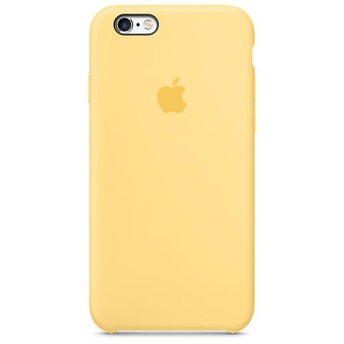Apple MM662ZM/A Abdeckung Gelb Handy-Schutzhülle (Gelb)